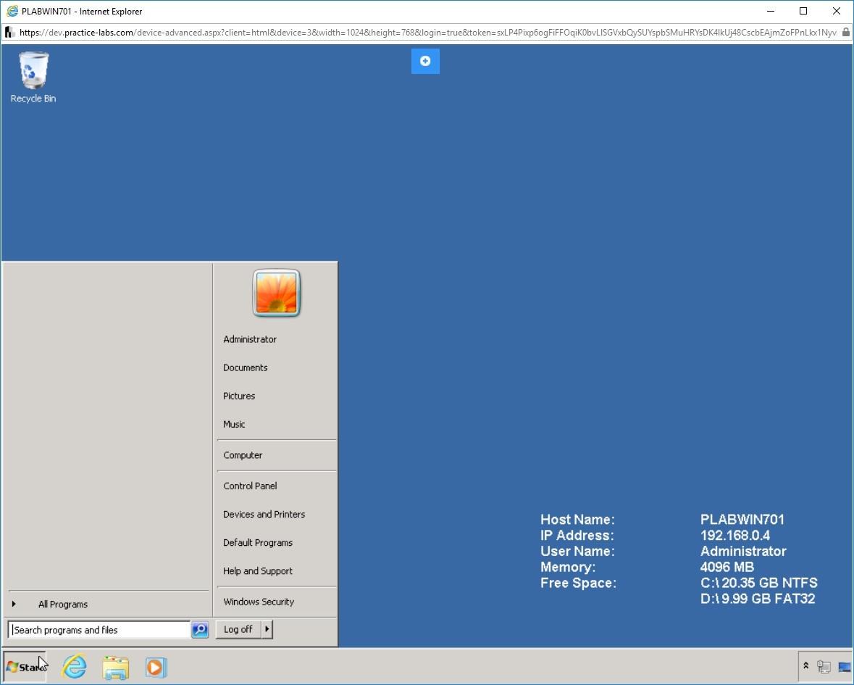 Hình 1.2 Ảnh chụp màn hình PLABWIN701