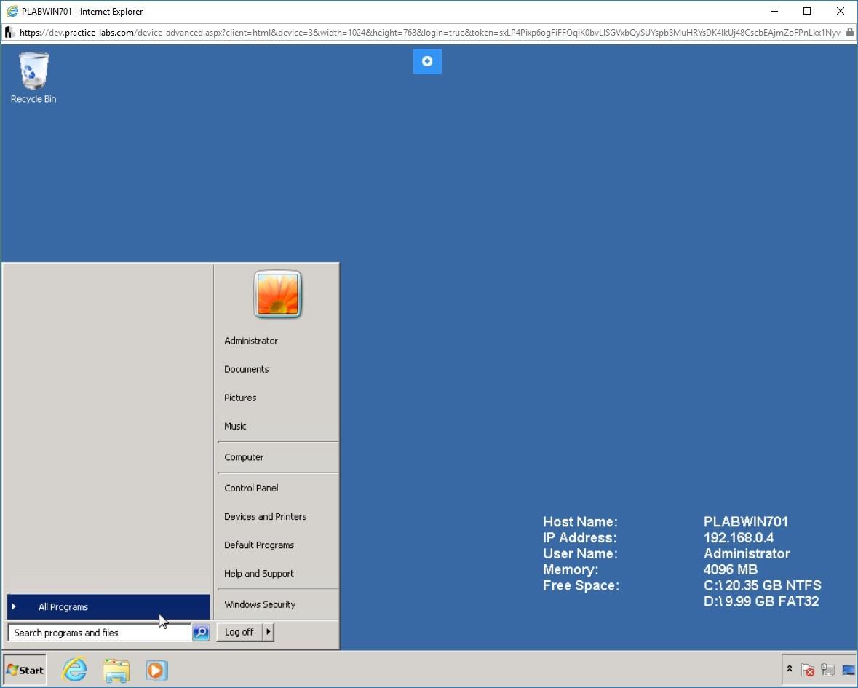 Hình 1.3 Ảnh chụp màn hình PLABWIN701