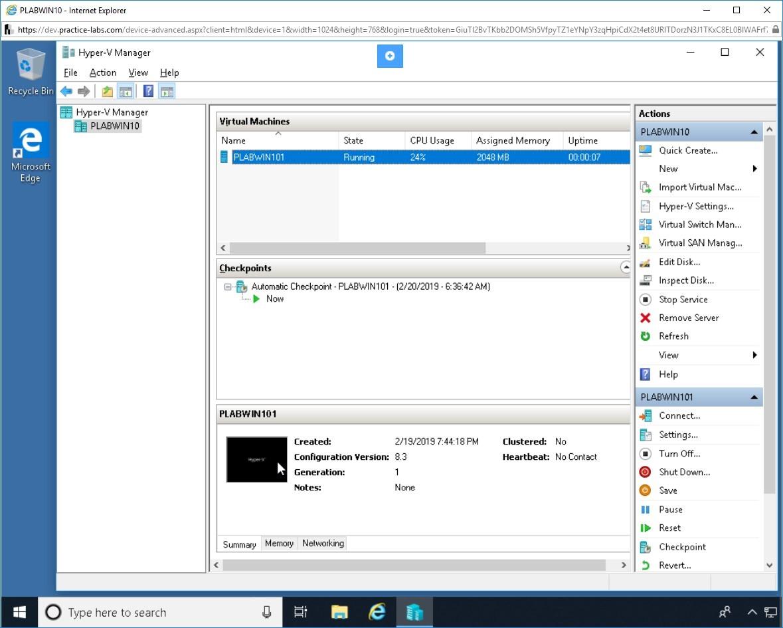 Hình 2.2 Ảnh chụp màn hình PLABWIN10