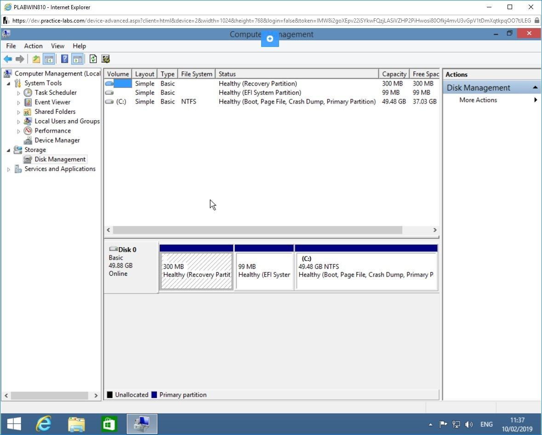 Hình 3.20 Ảnh chụp màn hình PLABWIN810