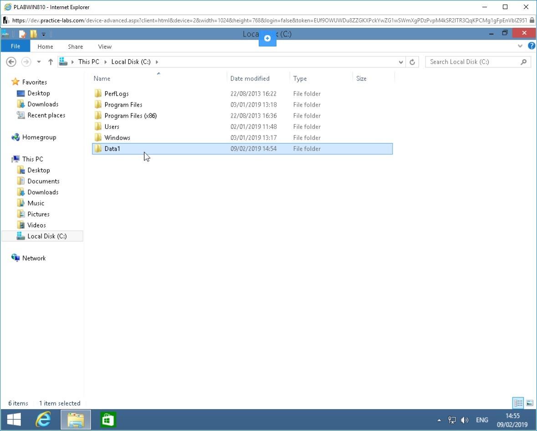 Hình 1.6 Ảnh chụp màn hình PLABWIN810