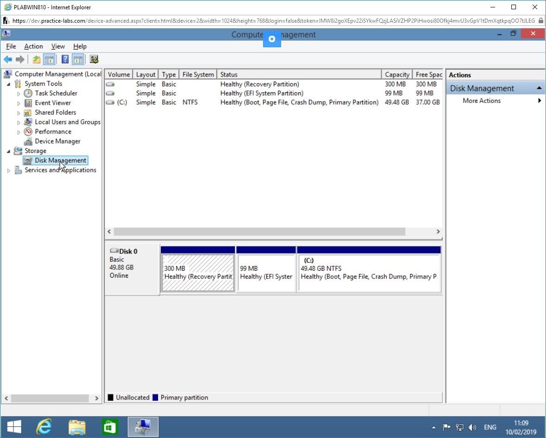 Hình 3.10 Ảnh chụp màn hình PLABWIN810