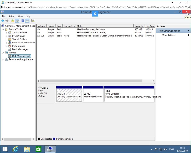 Hình 3.11 Ảnh chụp màn hình PLABWIN810