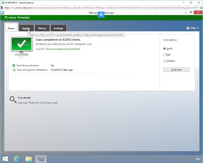 Hình 1.4 Ảnh chụp màn hình PLABWIN810