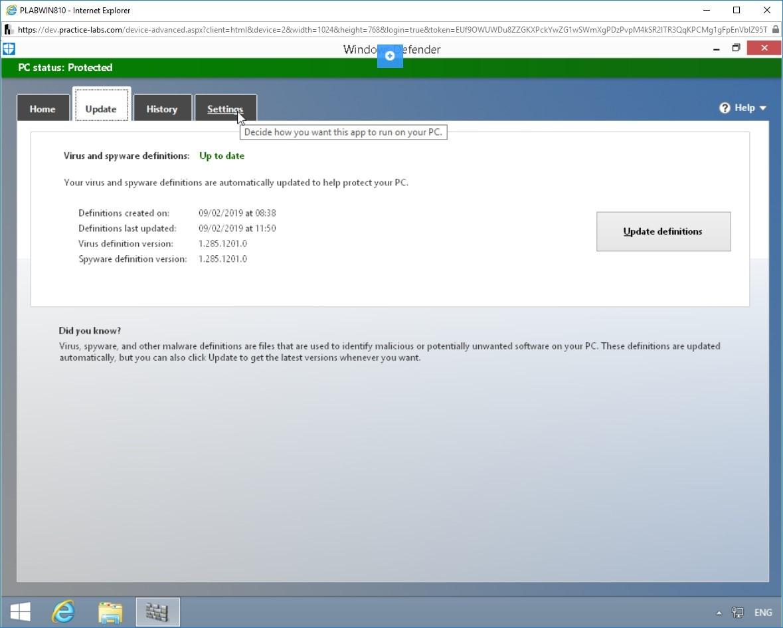 Hình 1.7 Ảnh chụp màn hình PLABWIN810