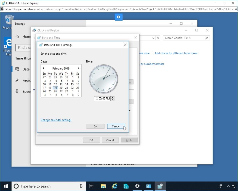Hình 2.5 Ảnh chụp màn hình thiết bị PLABWIN10