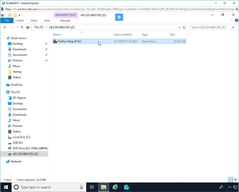 Hình 3.3 Ảnh chụp màn hình PLABWIN10