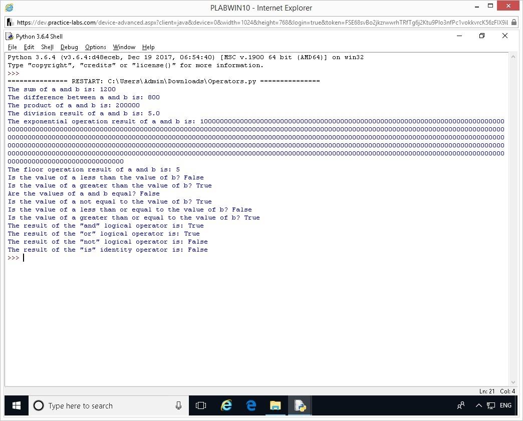 Hình 1.11 Ảnh chụp màn hình thiết bị PLABWIN10