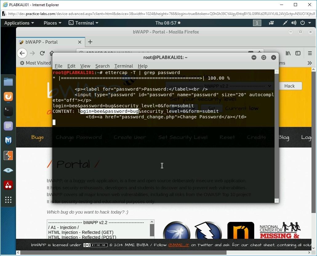 Hình 1.8 Ảnh chụp màn hình PLABKALI01