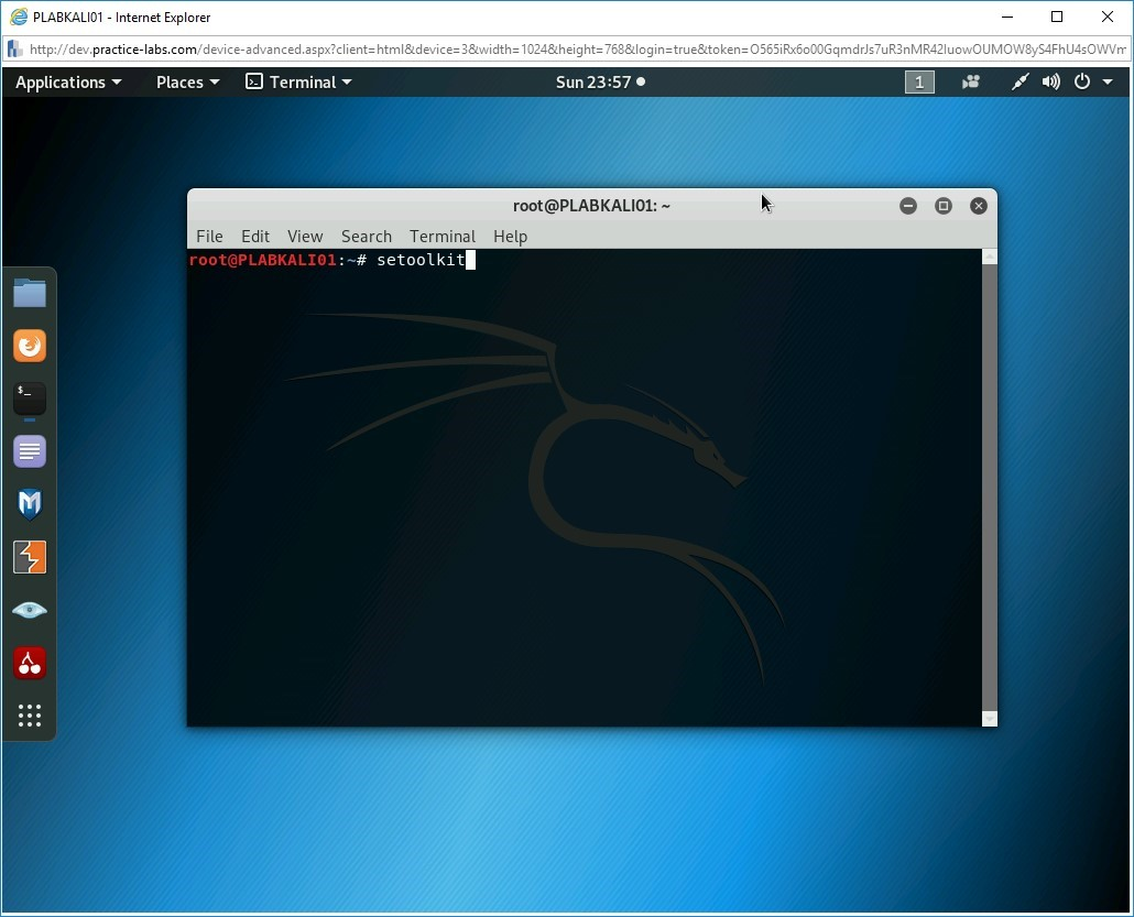 Hình 2.3 Ảnh chụp màn hình PLABKALI01