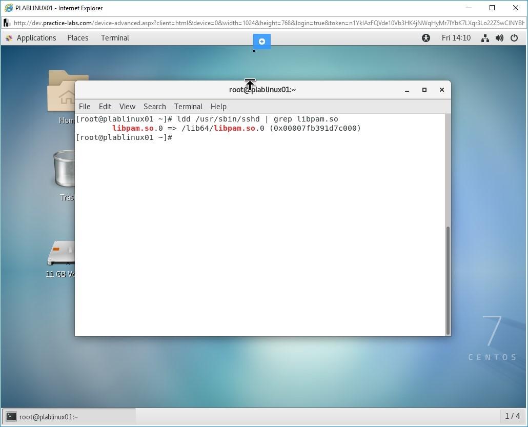 Hình 1.12 Ảnh chụp màn hình PLABLINUX01