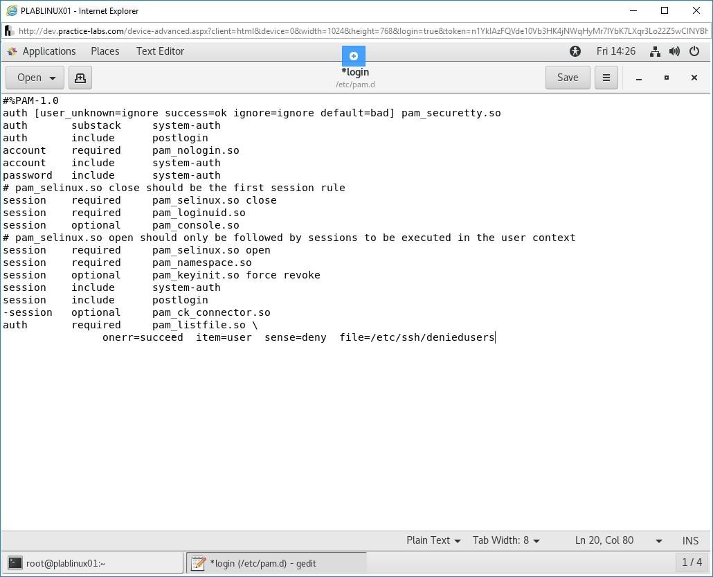 Hình 1.17 Ảnh chụp màn hình PLABLINUX01