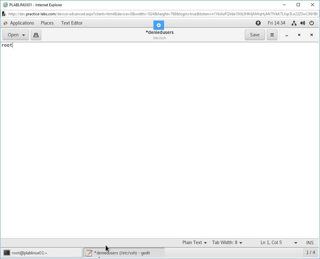 Hình 1.20 Ảnh chụp màn hình PLABLINUX01
