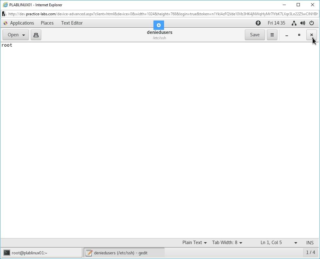 Hình 1.21 Ảnh chụp màn hình PLABLINUX01